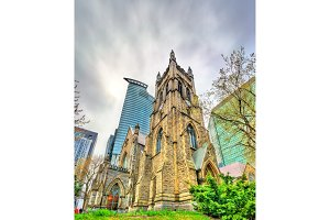 St. George's Anglican Church in Montreal, Canada