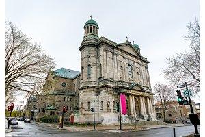Saint Jean-Baptiste Church in Montreal, Canada