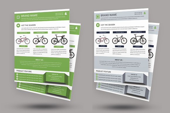 Cycle Shop Flyer Template