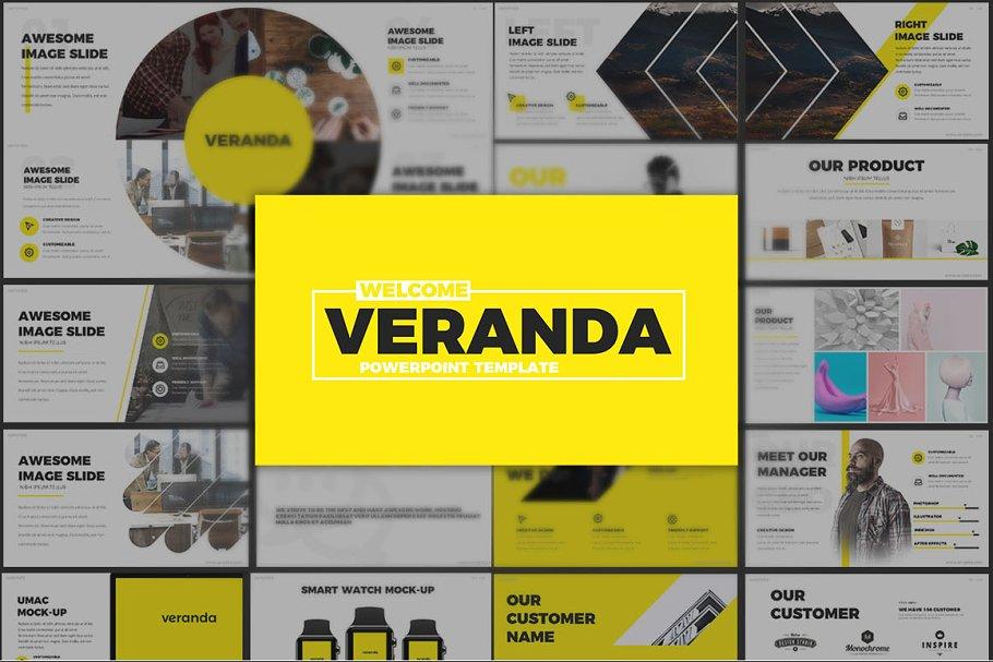 Vedette Powerpoint Template Creative Powerpoint Templates Creative Market