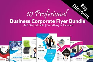 10 Business Flyer Bundle Vol:09