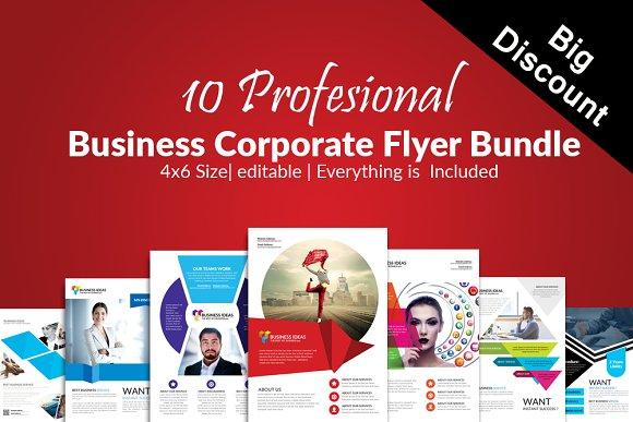 10 Business Flyer Bundle Vol 10