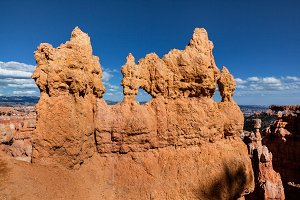 Sandstone Formations In Bryce Canyon
