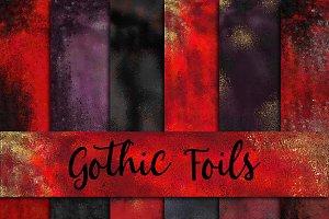 Gothic Foils Digital Paper