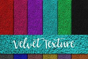 Velvet Texture Digital Paper