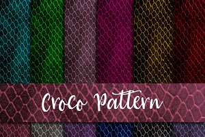 Croco Texture Digital paper