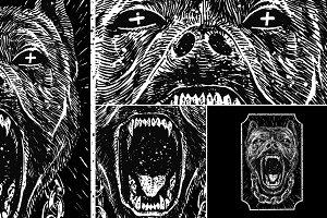 Vicious pitbull