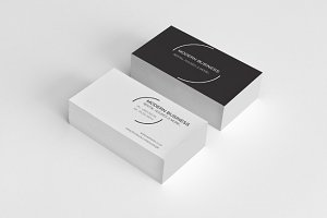 Minimal Business Card 2 in 1
