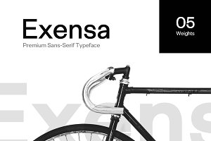 Exensa Grotesk Typeface + Web Fonts