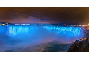 Horseshoe Falls, also known as Canadian Falls at Niagara Falls