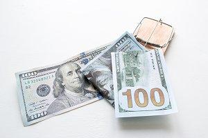 a bribe in a trap