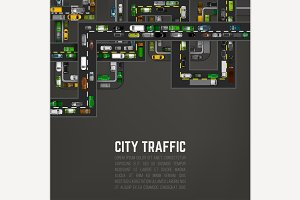 City Traffic Background
