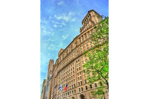26 Broadway, a historic building in Manhattan, New York City. Built in 1928