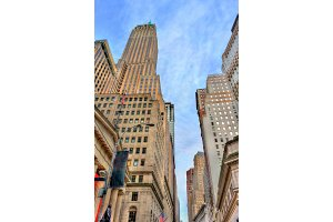 40 Wall Street, a historic building in Manhattan, New York City. Built in 1930