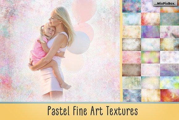 Pastel Fine Art Textures
