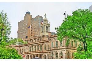 New York City Hall in Manhattan