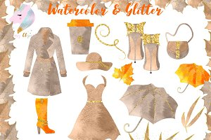 Autumn Fashion Clipart
