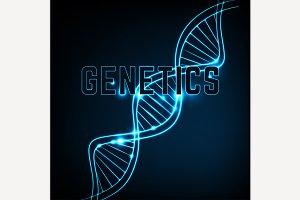 DNA Molecule Image