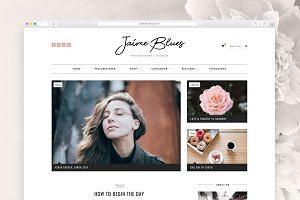 Jaime Blues - WordPress Blog & Shop