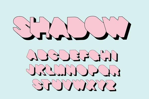 modern/art typography design vector