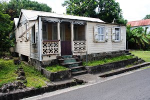 Home in Nevis, West Indies