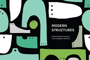 Modern Structure | Seamless Patterns