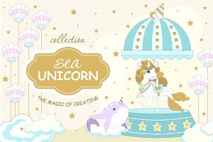 Sea Unicorn collection