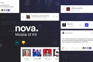 Nova Mobile UI Kit