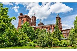 The Smithsonian Castle in Washington, D.C.