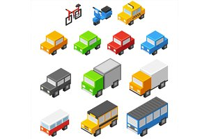 Isometric vector vehicles