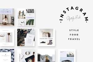 Instagram Pack 2 - STYLE FOOD TRAVEL