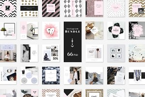 Instagram BUNDLE-Lifestyle & Fashion