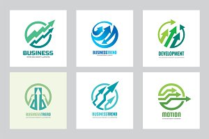 Arrows Business Trend - Logo Set