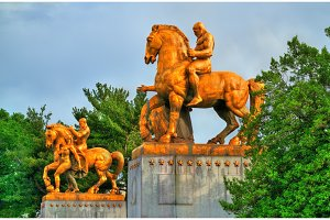 The Arts of War Statues at the Arlington Memorial Bridge - Washington D.C.