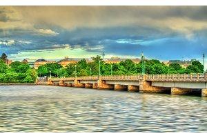 The Kutz Memorial Bridge across the Tidal Basin in Washington, D.C.
