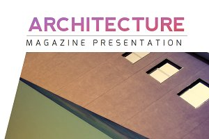 Architecture Magazine PowerPoint
