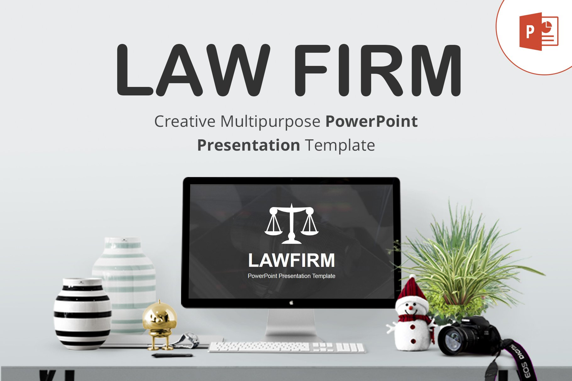 Law Firm Powerpoint Template Powerpoint Templates