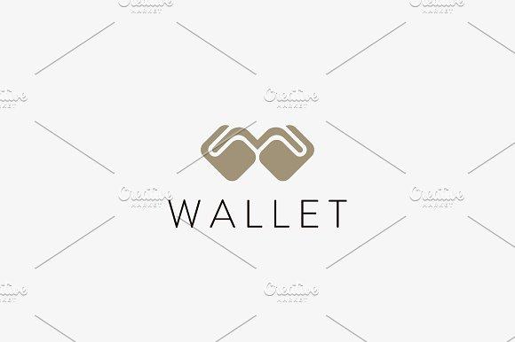 Wallet Money Vector Logo