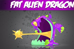 Fat Alien Monster!