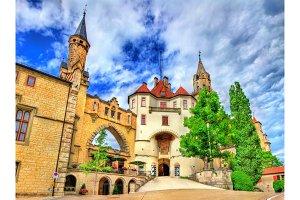 View of Sigmaringen Castle in Baden-Wurttemberg, Germany