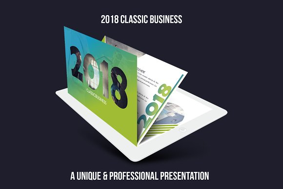 2018 Classic Business Powerpoint
