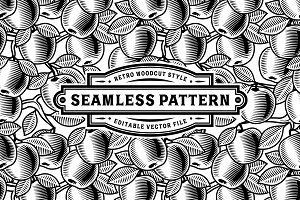 Seamless Apple Pattern
