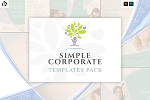Simple Corporate Templates Pack