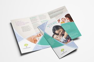 Simple Corporate Tri-Fold Brochure