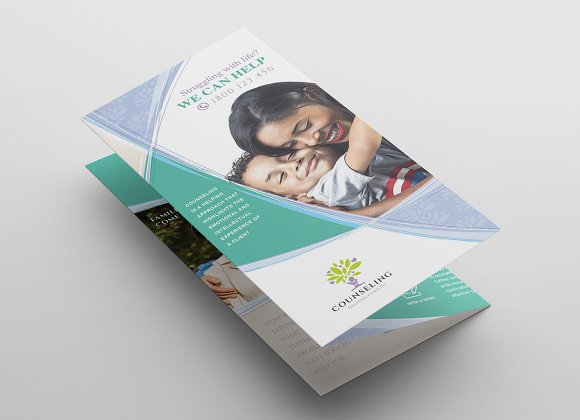 Simple Corporate Tri-Fold Brochure in Brochure Templates - product preview 2