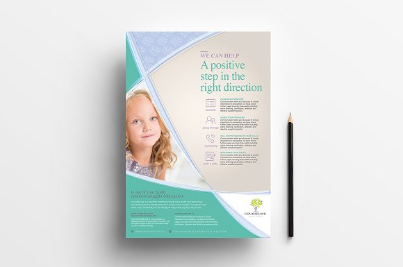 Simple Corporate Advertisement in Flyer Templates - product preview 1