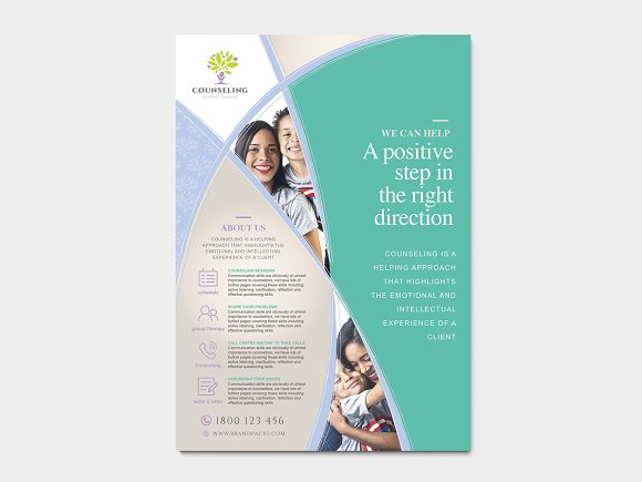 Simple Corporate Advertisement in Flyer Templates - product preview 2