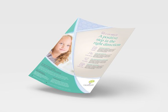 Simple Corporate Advertisement in Flyer Templates - product preview 3