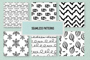 Seamless Doodle Patterns