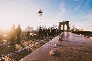 Brooklyn Bridge at Golden Hour